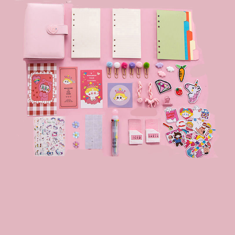 Candy Colored Notebook Set for Teens