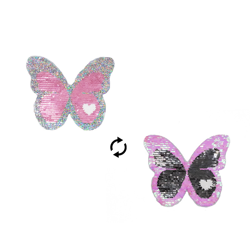 Fun Reversible Butterfly Patch for Entertaining Kids