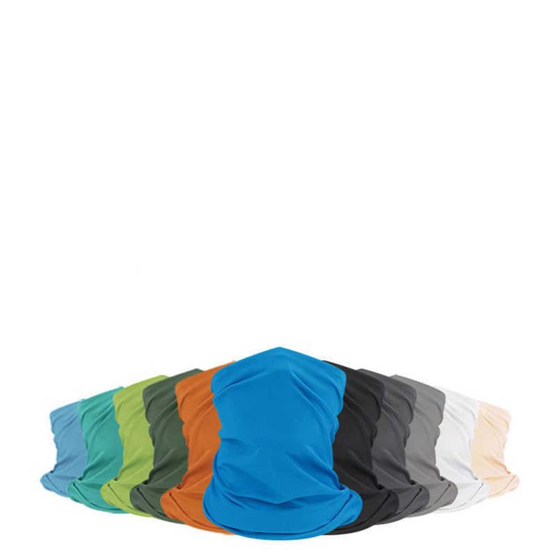 Colored Spandex Multi-Use Circular Scarves for Sun Protection