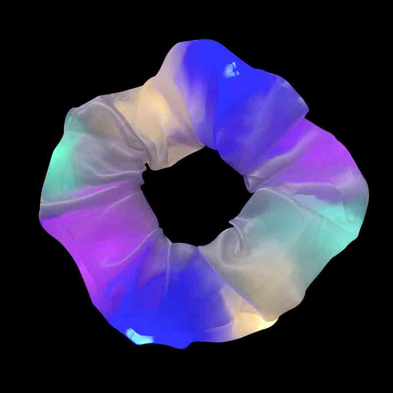 Chromatic LED Scrunchies for Night Party