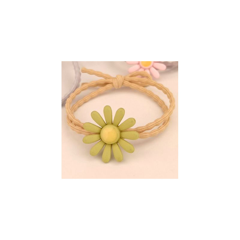 Cute Colored Sunflowers Hair Tie for Fun Summer Looks