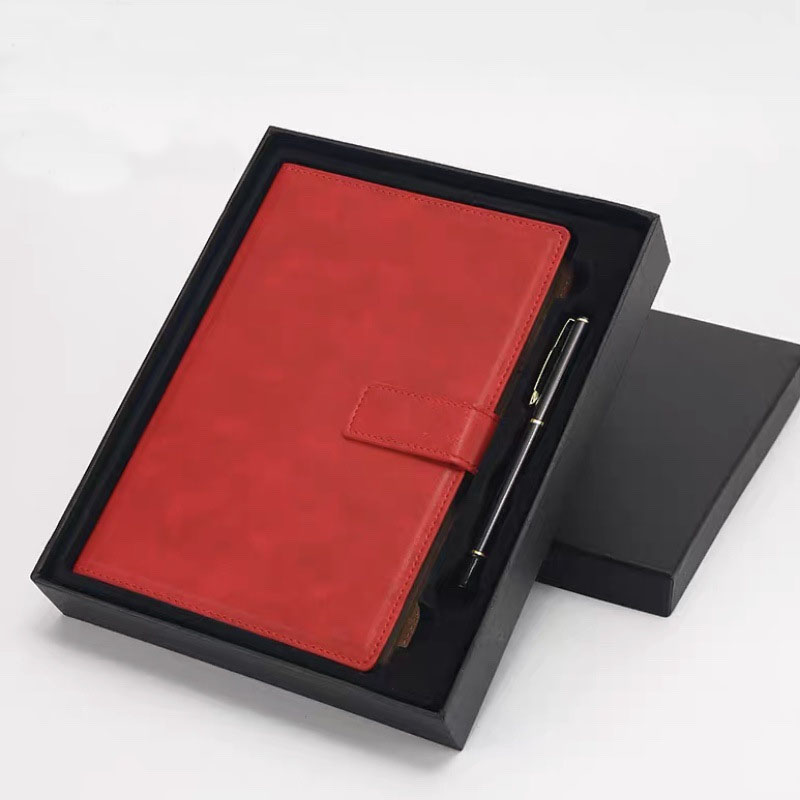 Retro Leather Cover Notebooks for Office Use