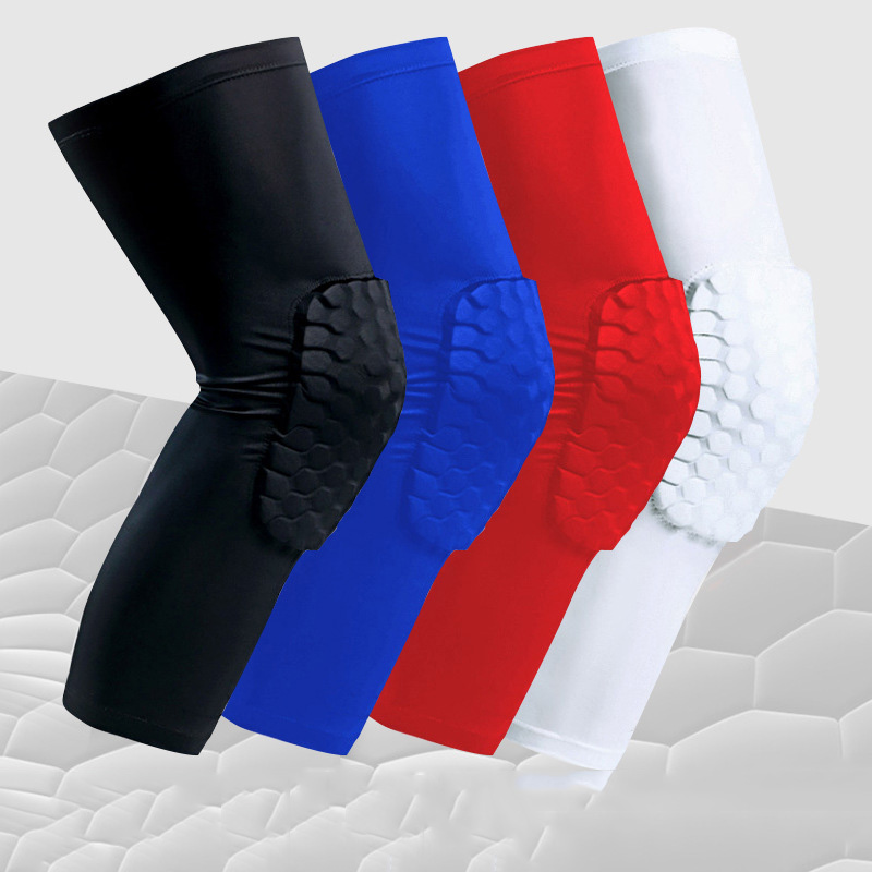 Honeycomb Knee Pad for Workout and Exercise Safety