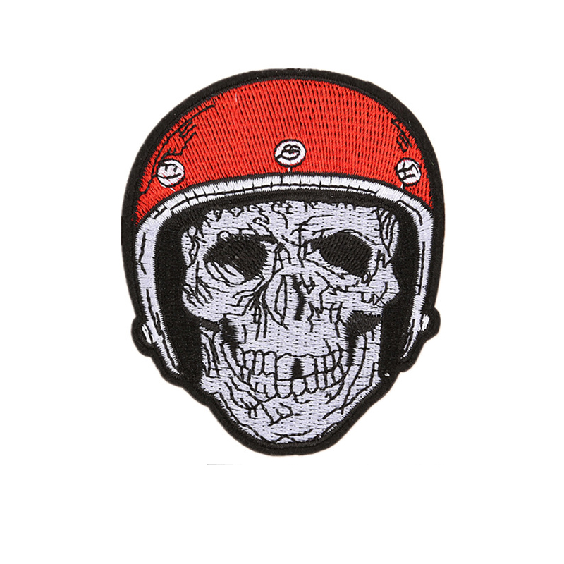 Sultry Statement Skull Patches for Punk Stylists