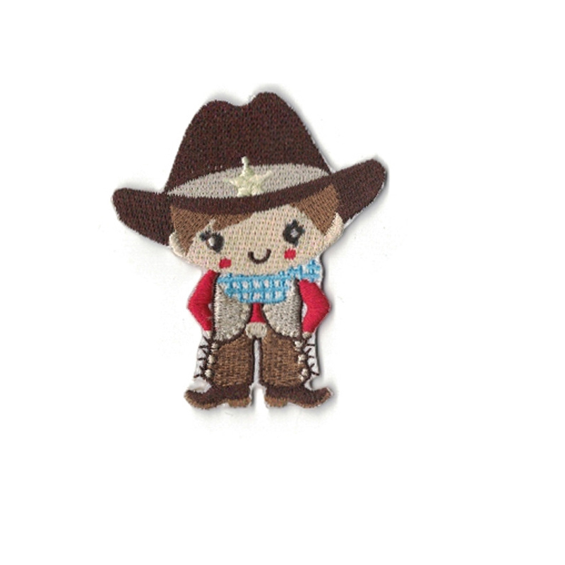 Petite Cowboy and Cowgirl Patches for Matching Siblings