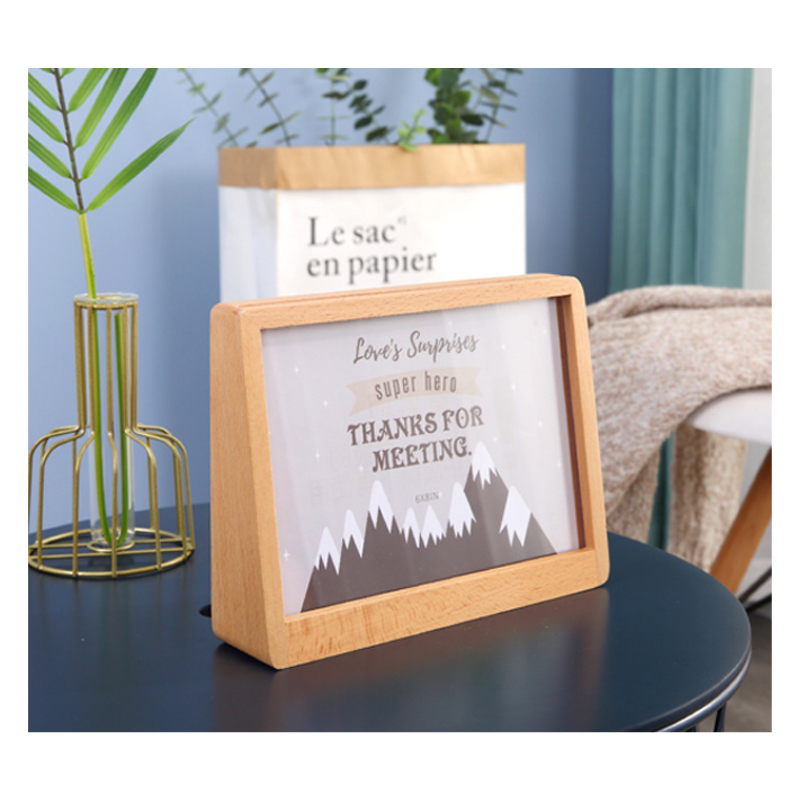Wooden Trapezoid Picture Frames