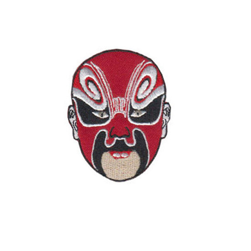 Powerful Beijing Opera Mask Patch for Cultural Appreciation