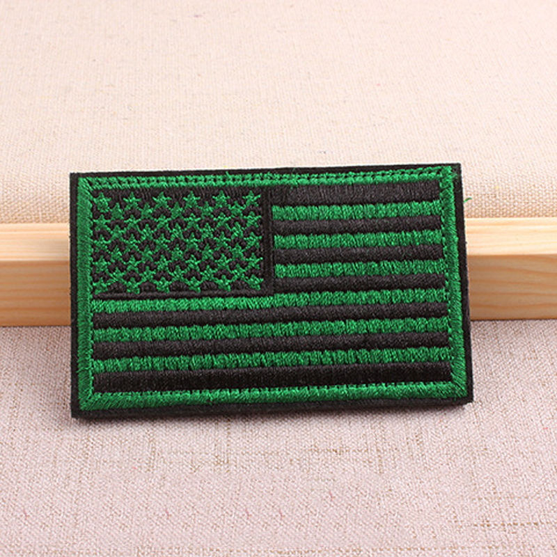 Wide Variety of American Flag Patches for Showing Patriotism