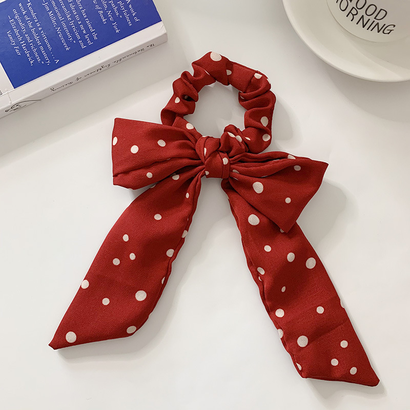 Rein Red and White Hair Accessories