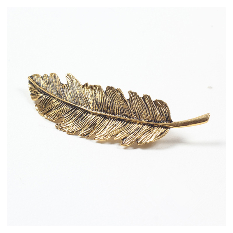 Ethereal Feather Hair Clip