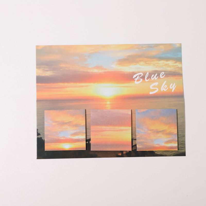 Calming Landscape Post-it Sticky Note for School and Office