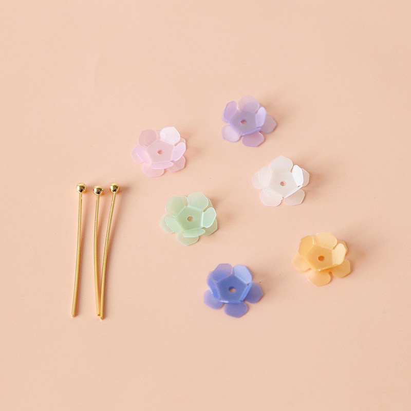 DIY Trendy Petal Beads for Classy Fashion Style
