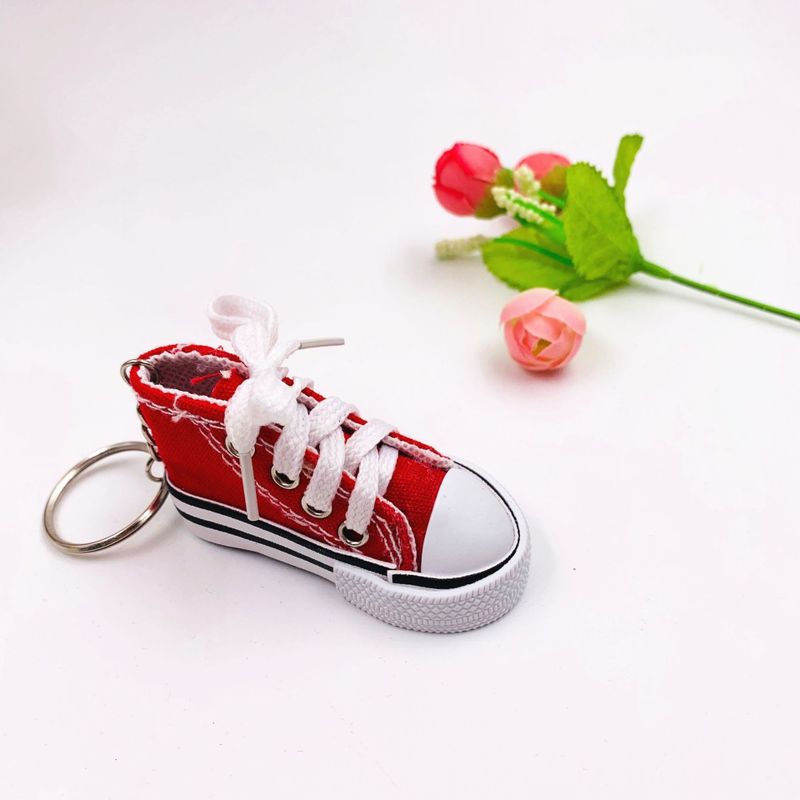 Small Sneaker Charm Keychain for Giveaways