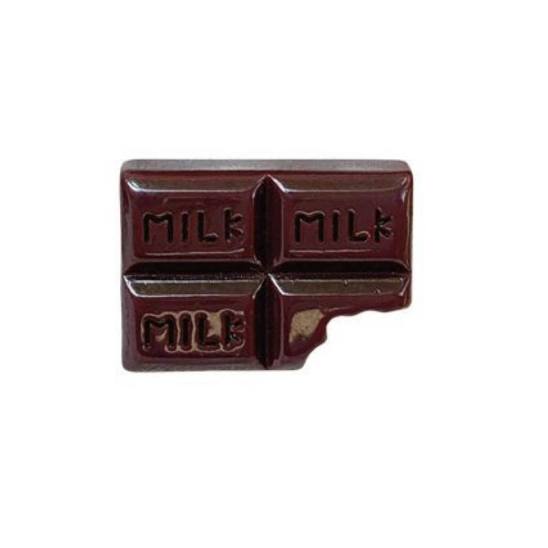 Tasty and Bitten Chocolate Bars Pin for Decorating Denims