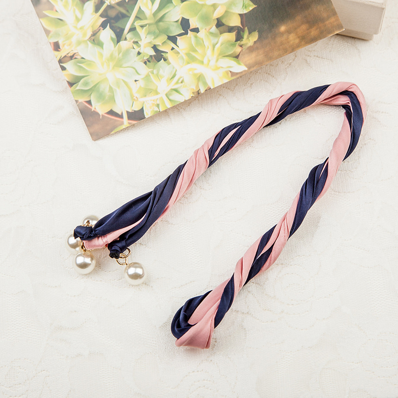 Moldable Two-Toned Wire Headband for Sophisticated Hairstyles