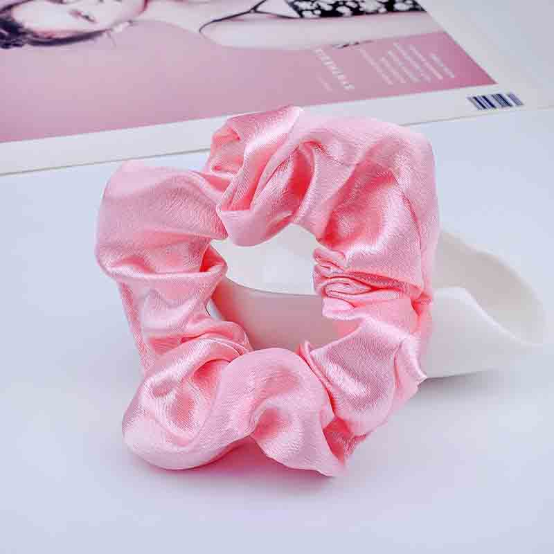 Glinting Satin Scrunchies for Amazing Sleepovers