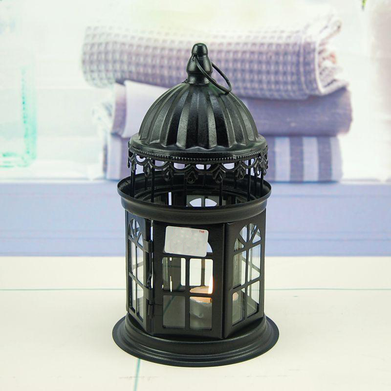 European-Style Pillar Artsy Candle Holder for Tealight Candles