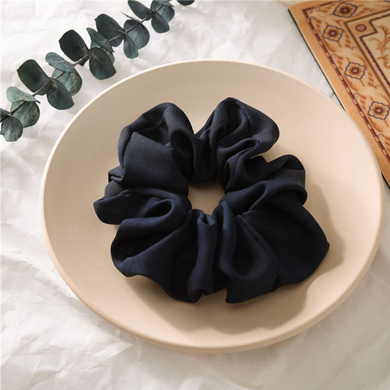 Soft Chiffon Scrunchies for Working Professionals