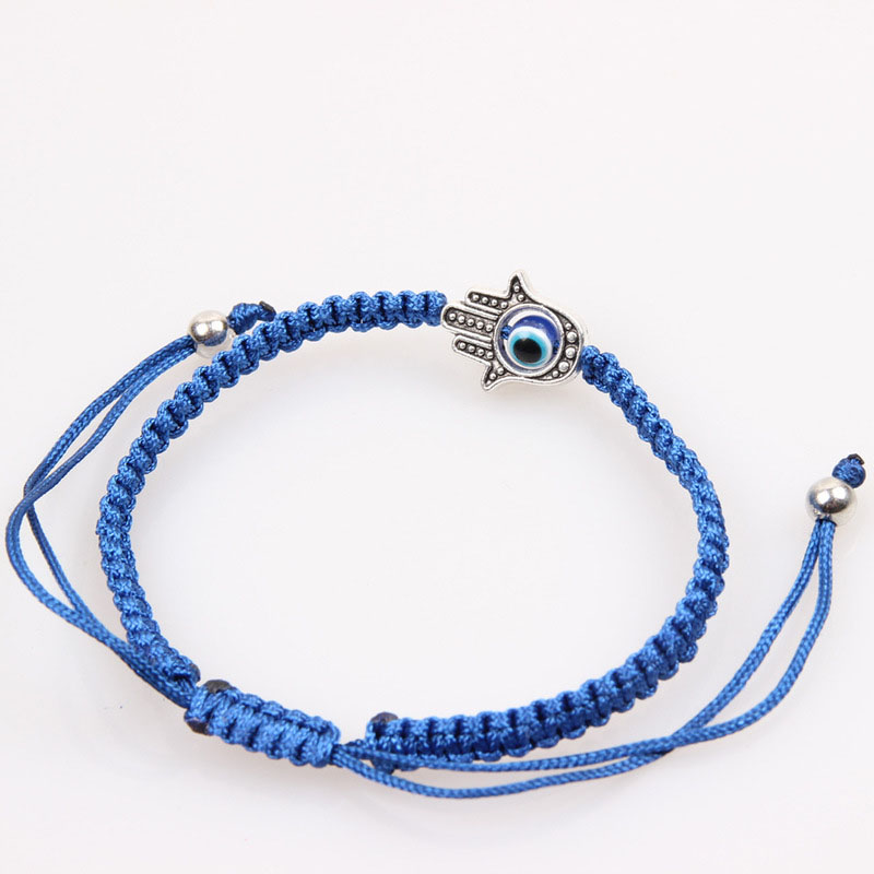 Oriental Rope Bracelet with Pendant for Good Fortune and Luck