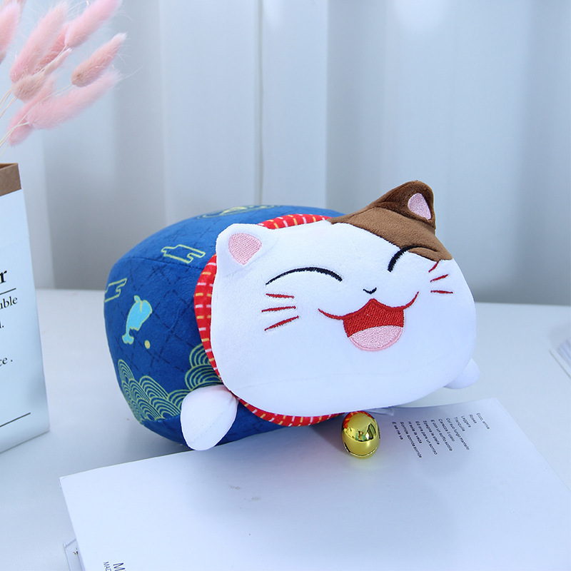 Plush Lucky Cat for Car Accessories