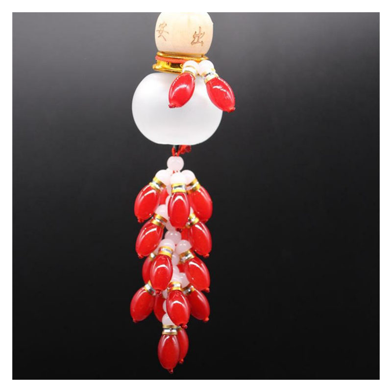 Alluring Beaded Gourd for Car Decoration