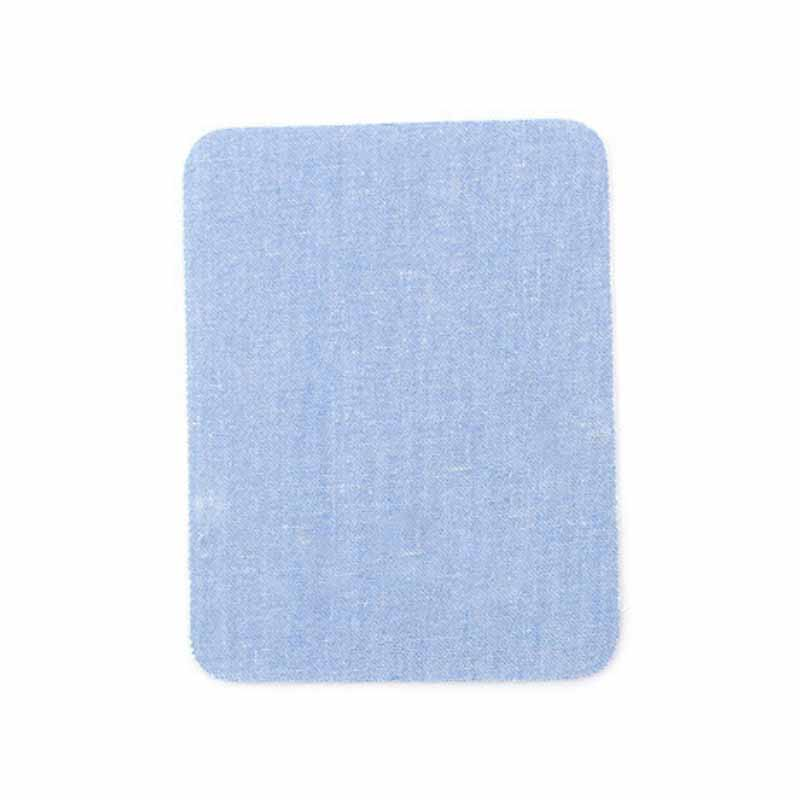 Rounded Rectangular Cloth Patch for Ironing on Jacket Sleeves