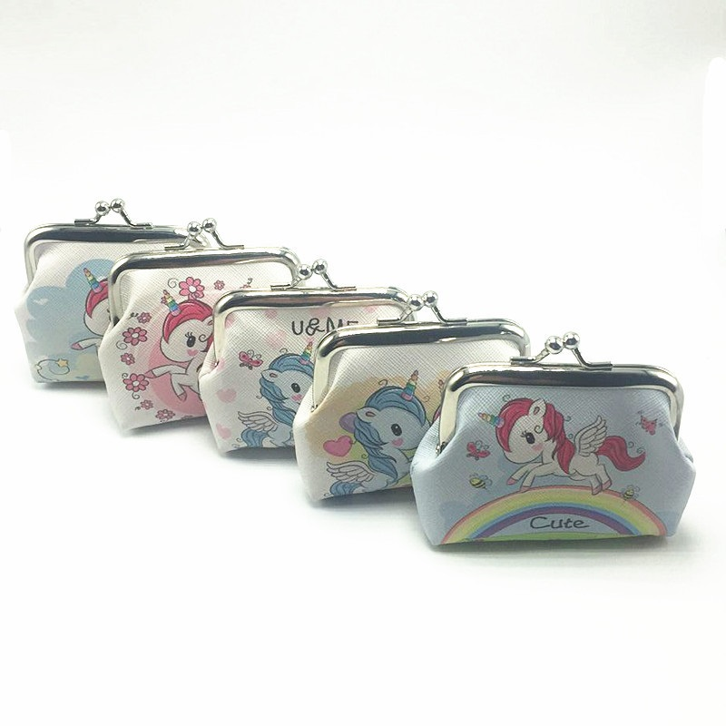 Easy-Open Unicorn Coin Purse for Coin Storage