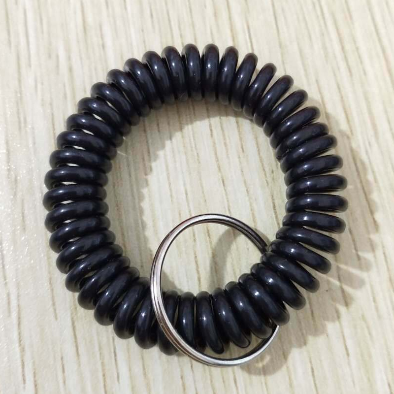 Creative Key Ring and Hair Coil for Wrist Wear