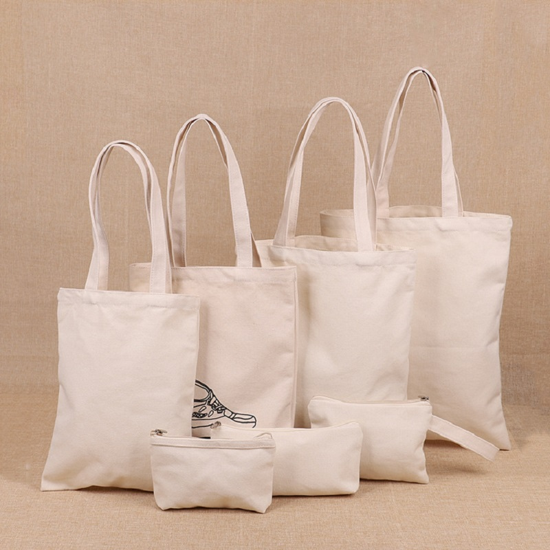 Plain Canvas Cloth Bags for DIY Projects