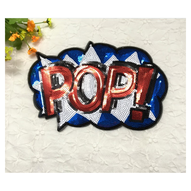 Loud Red POP! Patch for Hats