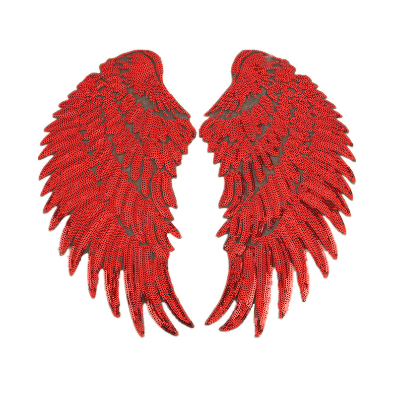 Little Sequins on Wings Patch for T-Shirts