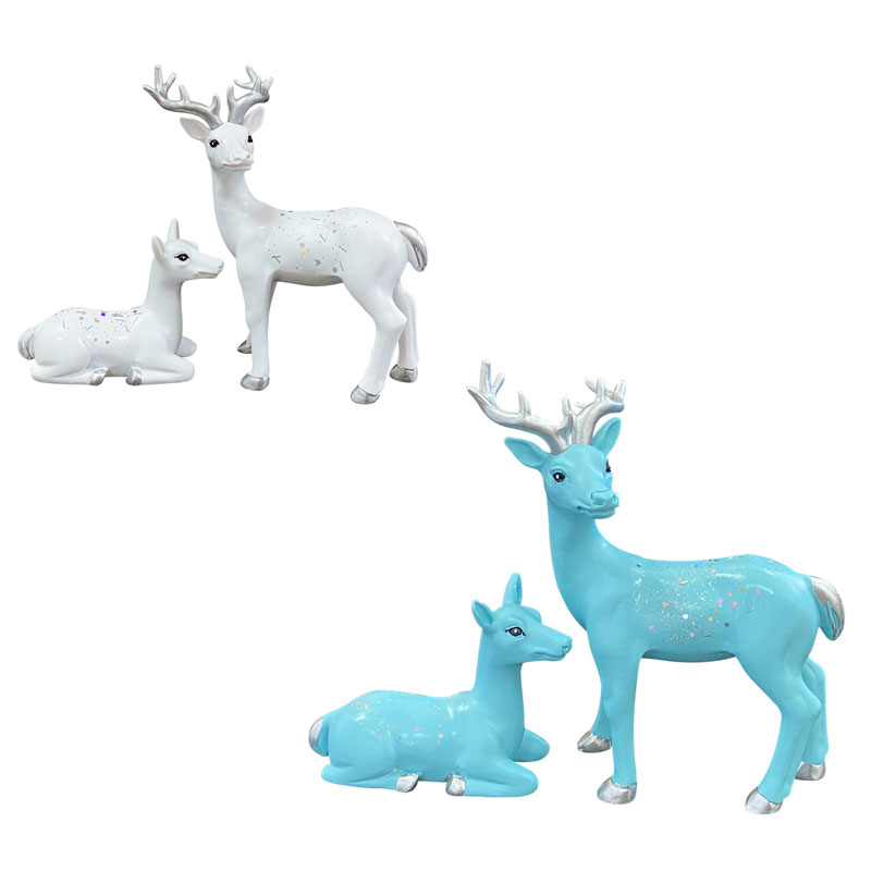 Attractive Deer Car Decoration for Awesome Travel