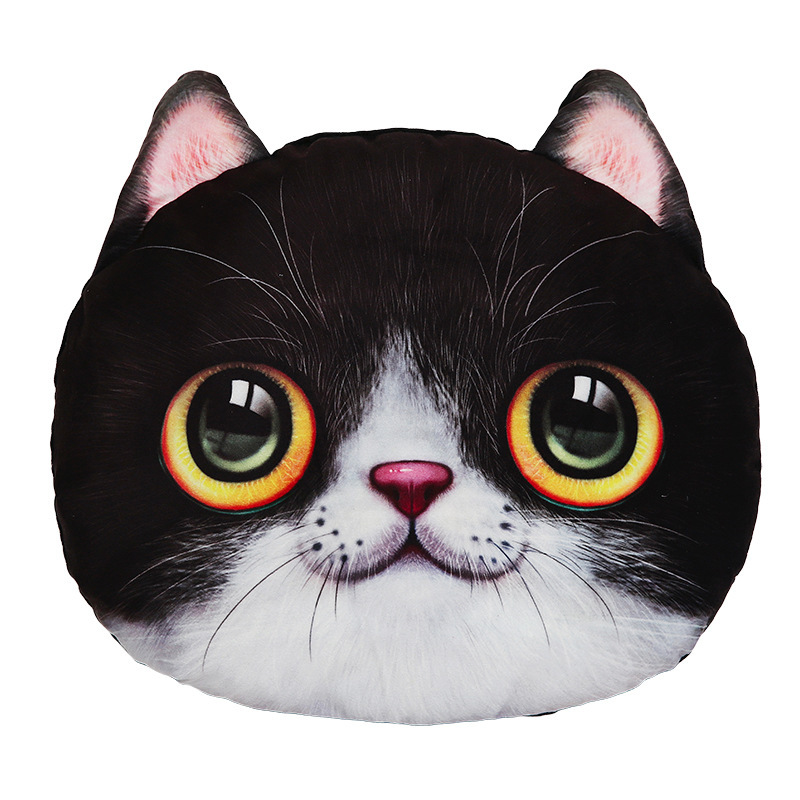 Funny Furry Animals Neck Pillow for Comfy Rides