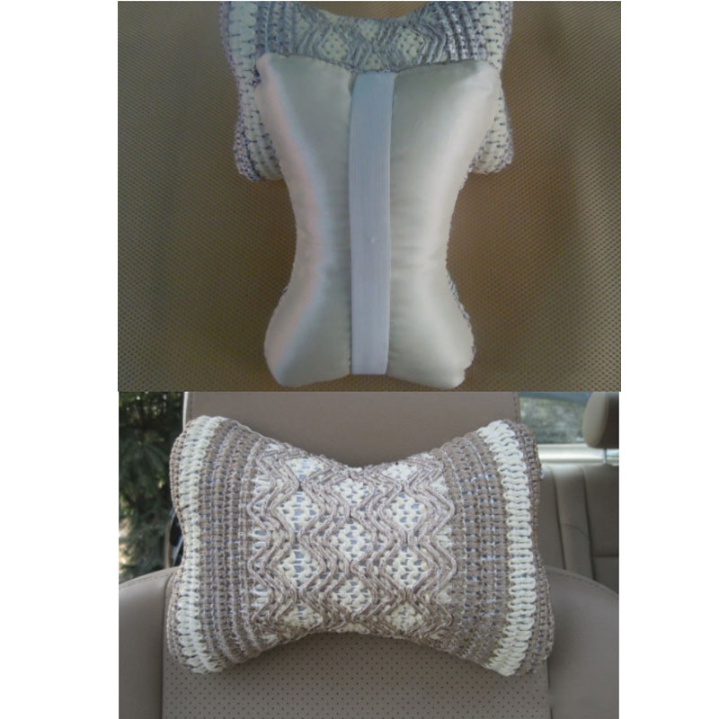 Woven Neck Pillows for Warm and Comfy Headrests
