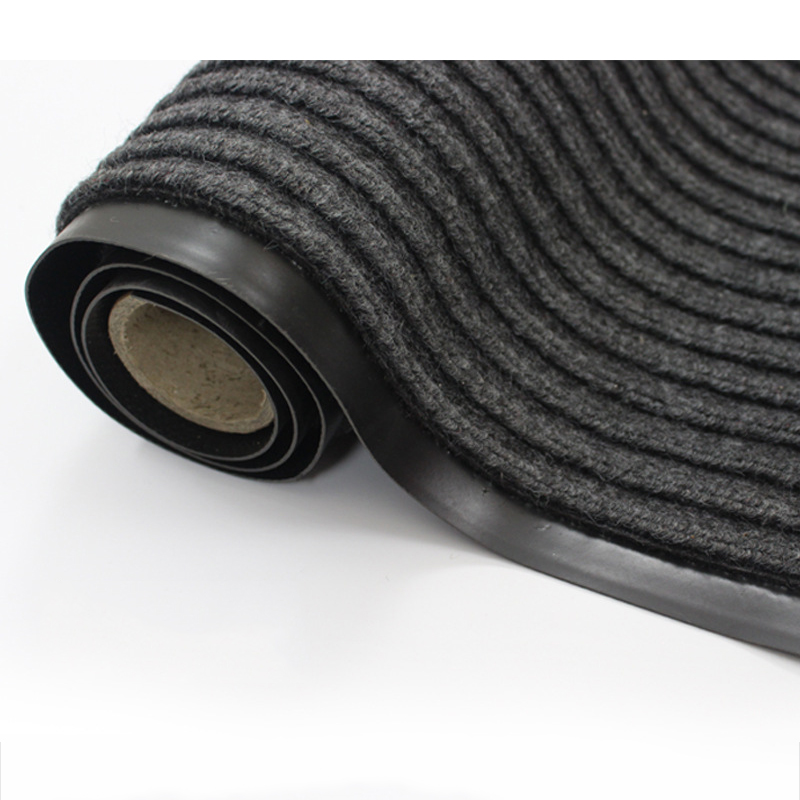 Non-Slip Retro Ribbed Floor Mats