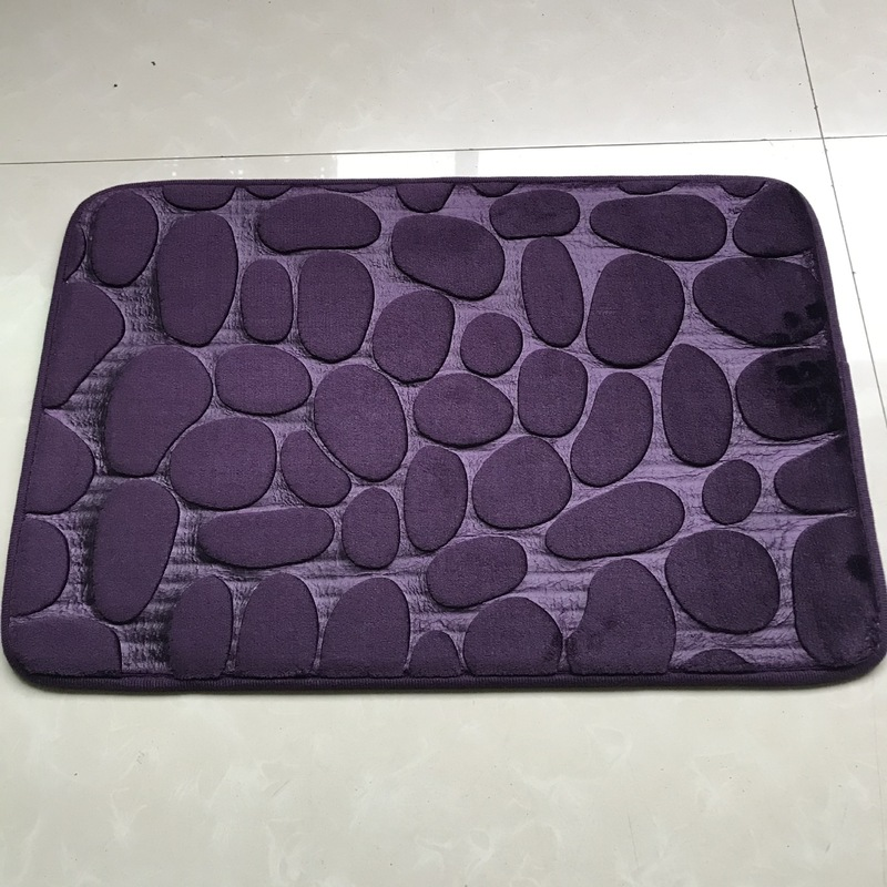 Pebble-Like Absorbent Floor Mat