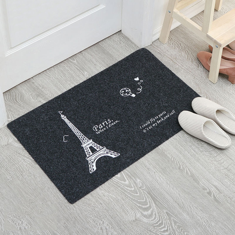 Statement Black Floor Mat Collection