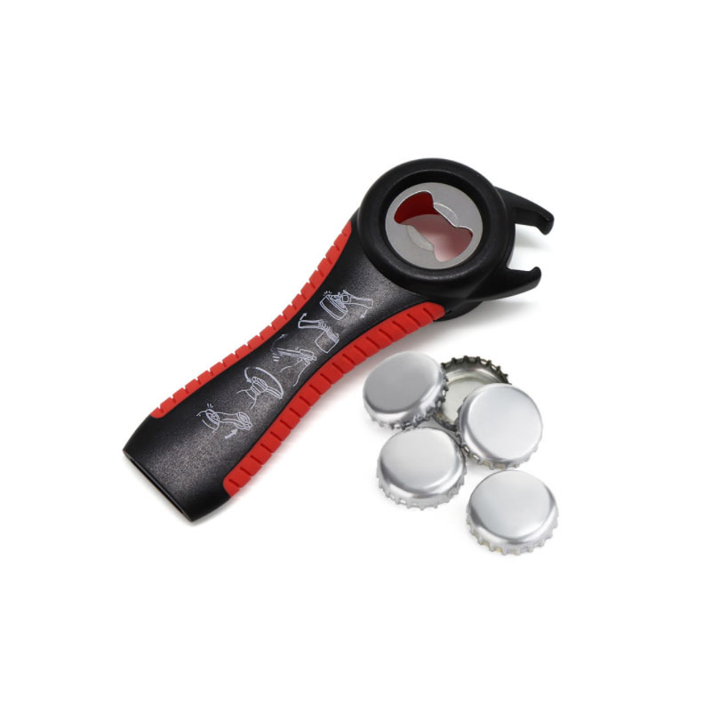 Multifunctional Bottle Opener for Cans and Glasses