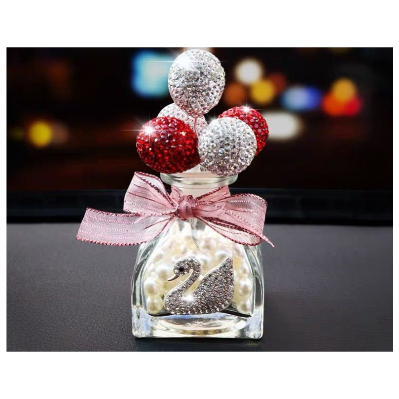 Balloon Glass Bottle for Car Decoration