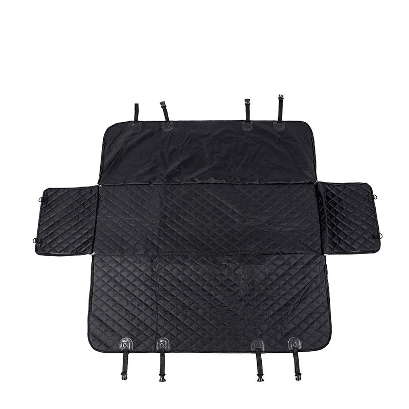 Quilted Car Backseat Mat for Travelling with your Pet Buddy