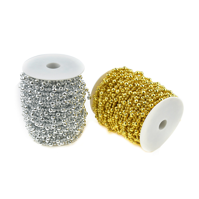 Shiny Metallic Connecting Beads for Fancy Party Decoration