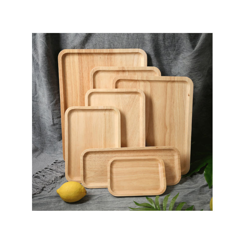 Wooden Food Trays for Charcuterie