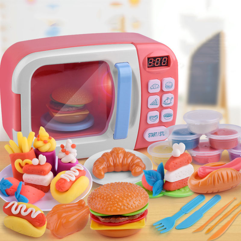 Fun Microwave Cooking Toy Set for Play Time