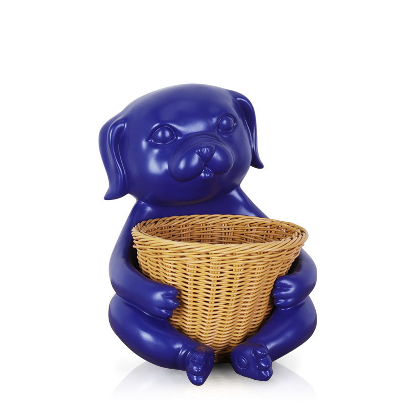 Blue Dog Tray Holder for Study Tables