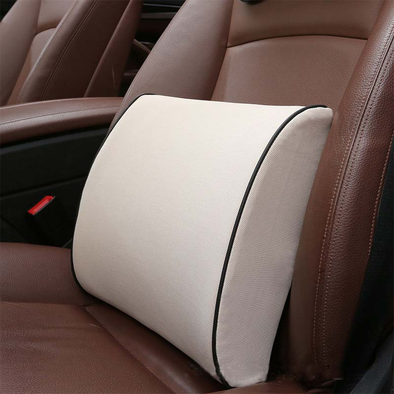 Plain Memory Foam Neck Pillow for Smooth Driving