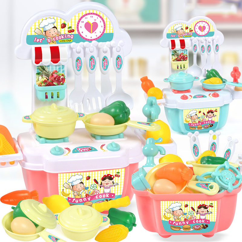 Cute and Fun Kitchen Cooking Set for Play Time