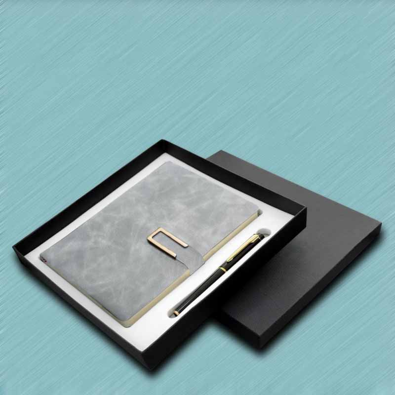 Faux Leather Business Notebook for Office