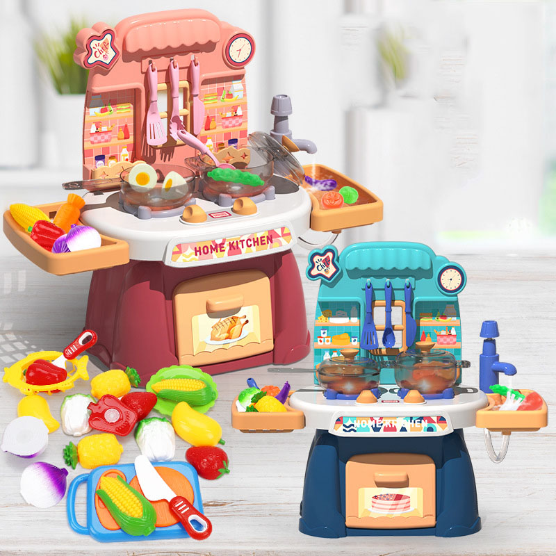 Modern Kitchen Cooking Toy Set for Play Time
