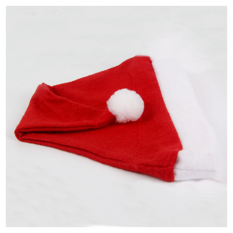 Simple Santa Hats for Christmas Parties