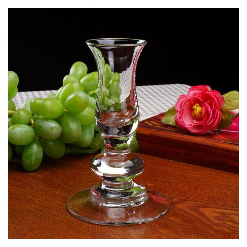 Gorgeous Glass Sculpture Candle Holder for Holding Candlesticks